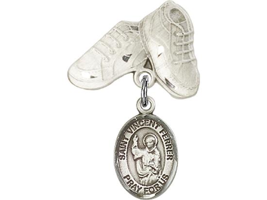 St Vincent Ferrer<br>Baby Badge - 9201/5923