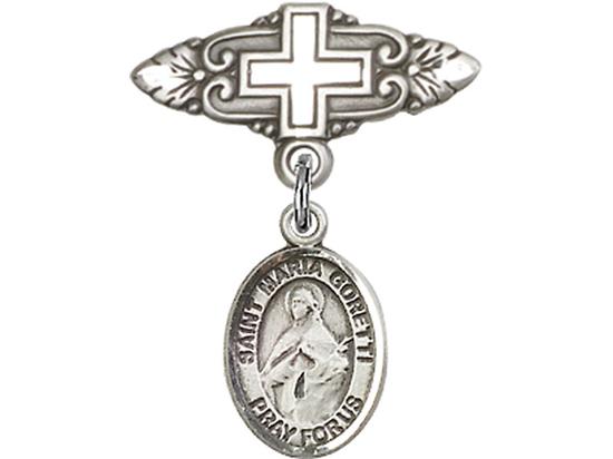 St Maria Goretti<br>Baby Badge - 9208/0731