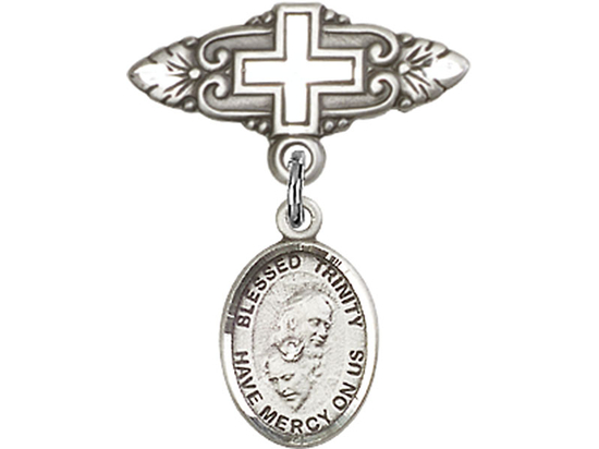 Blessed Trinity<br>Baby Badge - 9249/0731