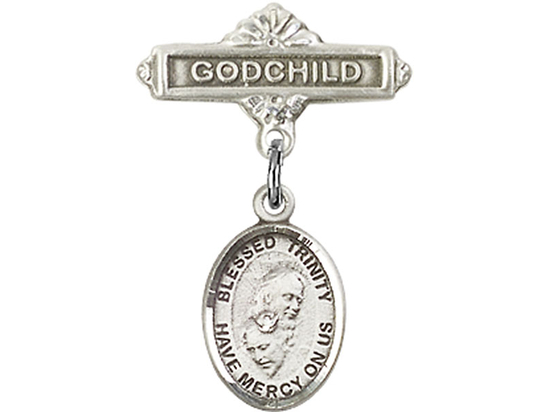 Blessed Trinity<br>Baby Badge - 9249/0736