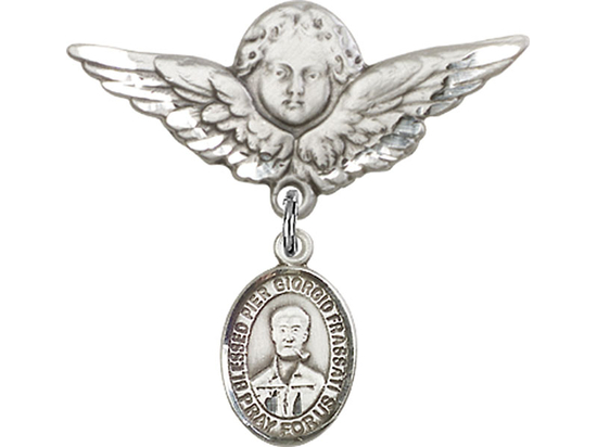 Blessed Pier Giorgio Frassati<br>Baby Badge - 9278/0733