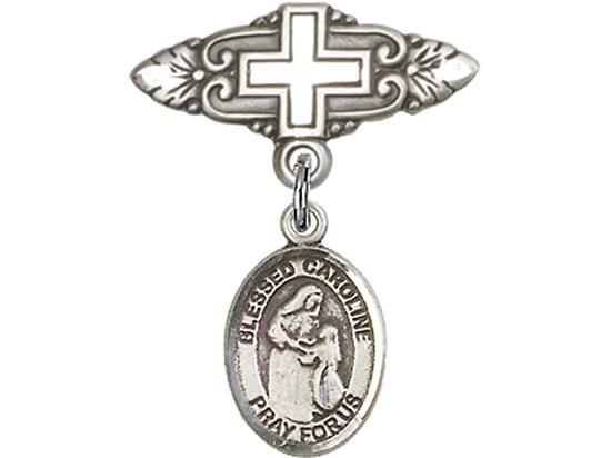 Blessed Caroline Gerhardinger<br>Baby Badge - 9281/0731