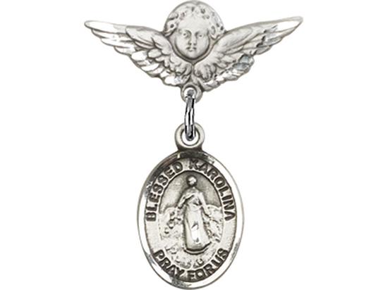 Blessed Karolina Kozkowna<br>Baby Badge - 9283/0735
