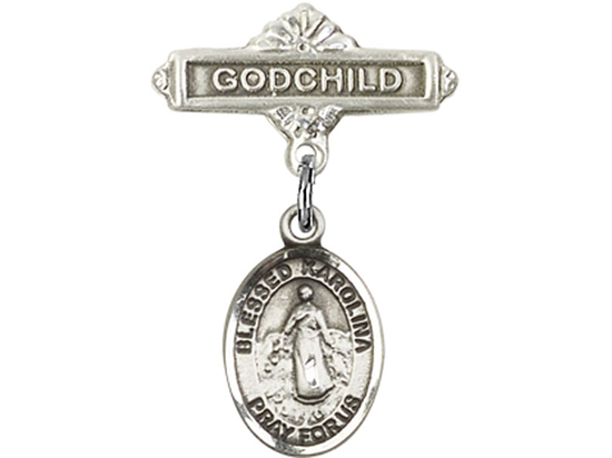 Blessed Karolina Kozkowna<br>Baby Badge - 9283/0736