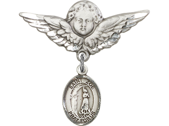 St Zoe of Rome<br>Baby Badge - 9314/0733