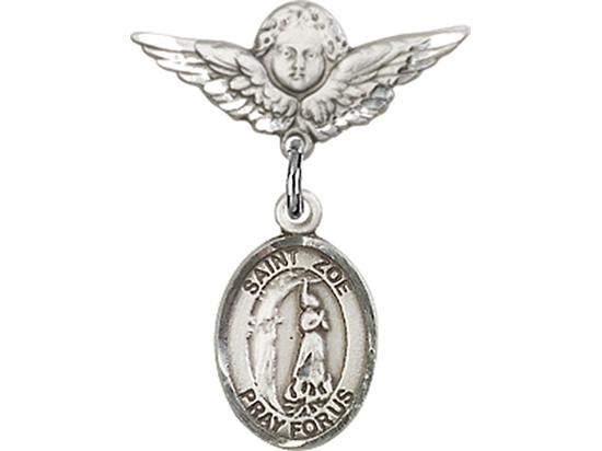 St Zoe of Rome<br>Baby Badge - 9314/0735