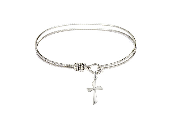 0016Y - Cross Bangle<br>Available in 6 Styles