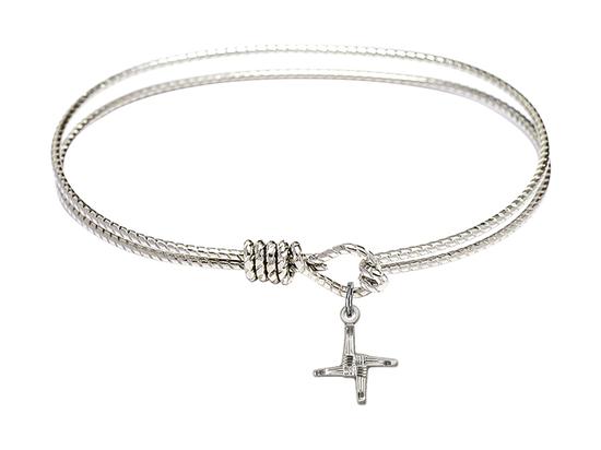 0291 - Saint Brigid Cross Bangle<br>Available in 8 Styles