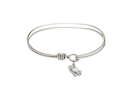 1322 - Praying Hands Bangle<br>Available in 6 Styles