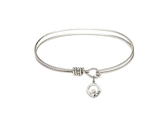 4113 - Claddagh Bangle<br>Available in 8 Styles