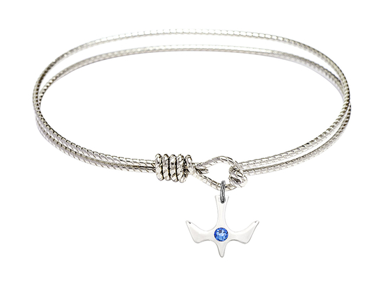 5431-STN - Holy Spirit Bangle<br>Available in 8 Styles