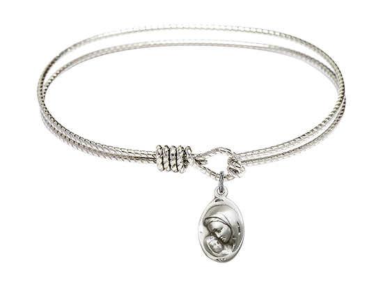 5447 - Madonna & Child Bangle<br>Available in 8 Styles