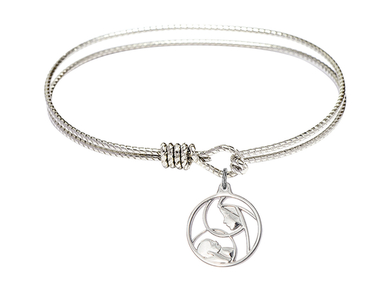 6225 - Madonna and Child Bangle<br>Available in 8 Styles