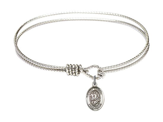 9040 - Saint George Bangle<br>Available in 8 Styles