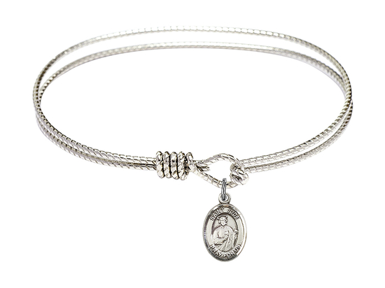 9060 - Saint Jude Thaddeus Bangle<br>Available in 8 Styles