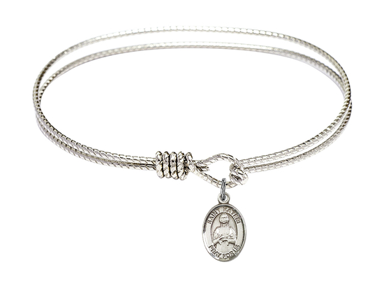 9061 - Saint Kateri Tekakwitha Bangle<br>Available in 8 Styles