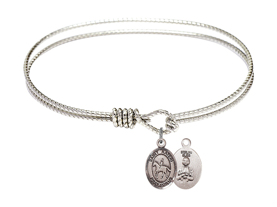 9182 - Saint Kateri/Equestrian Bangle<br>Available in 8 Styles