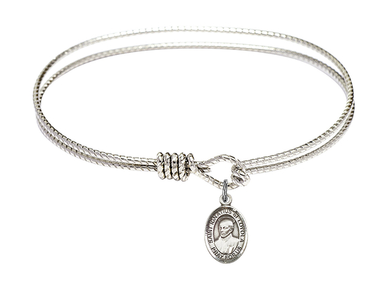 9217 - Saint Ignatius of Loyola Bangle<br>Available in 8 Styles