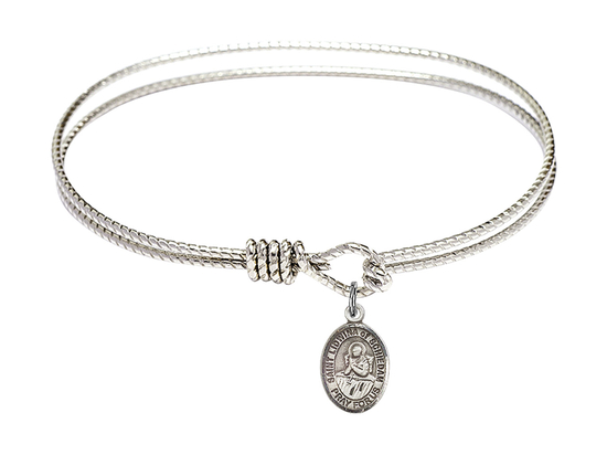 9297 - Saint Lidwina of Schiedam Bangle<br>Available in 8 Styles