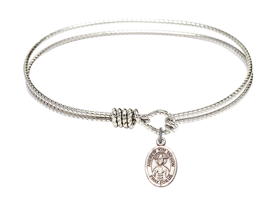 9373 - Saint Andrew Kim Taegon Bangle<br>Available in 8 Styles