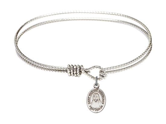 9391 - Saint Pauline Visintainer Bangle<br>Available in 8 Styles