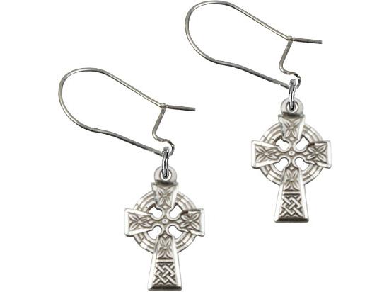 Celtic Cross<br>E4133D - 1/2 x 3/8<br>Earring