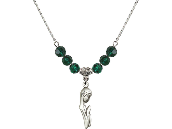 N30 Birthstone Necklace<br>Madonna<br>Available in 15 Colors