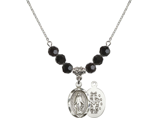 N30 Birthstone Necklace<br>Miraculous<br>Available in 15 Colors