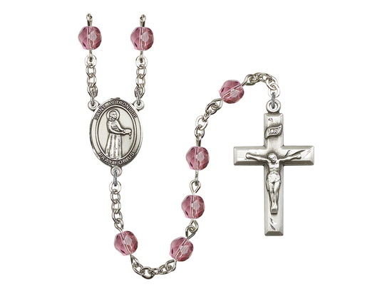 R6000 Series Rosary<br>St. Petronille<br>Available in 12 Colors