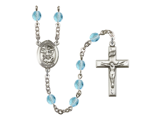 R6000 Series Rosary<br>St. Michael the Archangel<br>Available in 12 Colors
