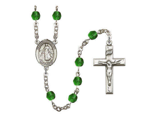 R6000 Series Rosary<br>Blessed Karolina Kozkowna<br>Available in 12 Colors