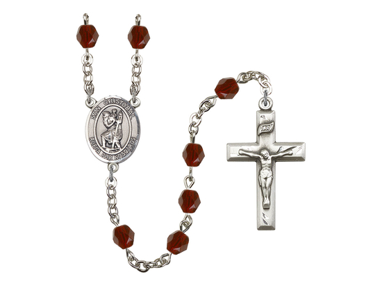 R6000 Series Rosary<br>San Cristobal<br>Available in 12 Colors