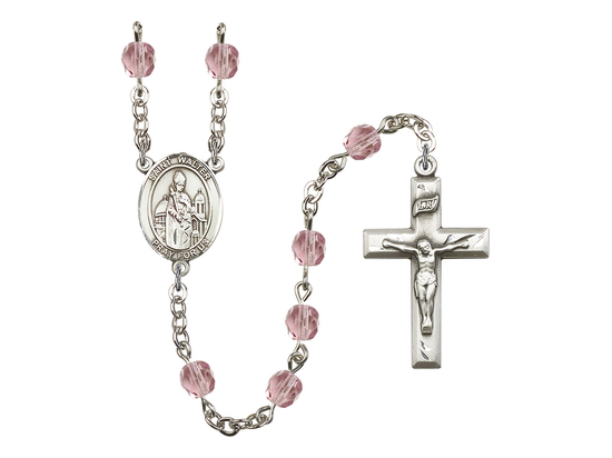 R6000 Series Rosary<br>St. Walter of Pontoise<br>Available in 12 Colors