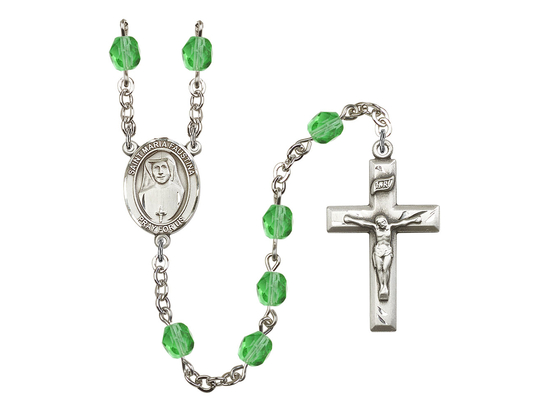 R6000 Series Rosary<br>St. Maria Faustina<br>Available in 12 Colors