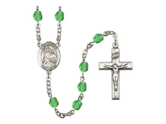 R6000 Series Rosary<br>St. Raphael the Archangel<br>Available in 12 Colors