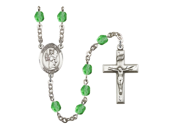 R6000 Series Rosary<br>St. Uriel the Archangel<br>Available in 12 Colors
