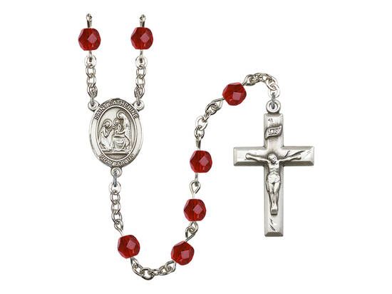 R6000 Series Rosary<br>St. Catherine of Siena<br>Available in 12 Colors
