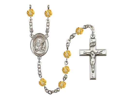 R6000 Series Rosary<br>St. Apollonia<br>Available in 12 Colors