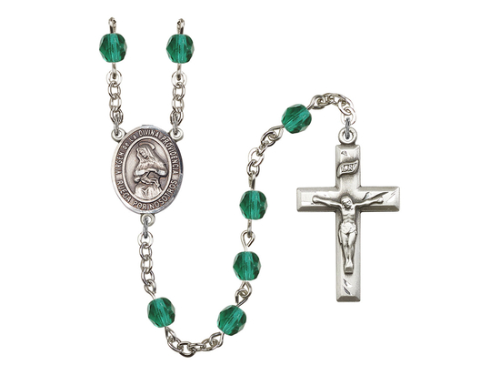 R6000 Series Rosary<br>Virgen de la Divina Providencia<br>Available in 12 Colors