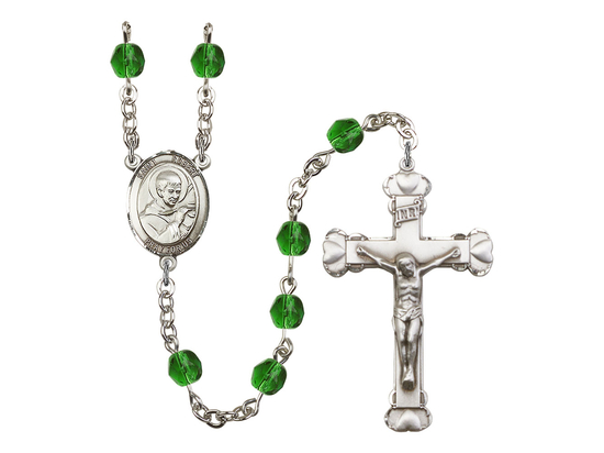 R6001 Series Rosary<br>St. Robert Bellarmine<br>Available in 12 Colors