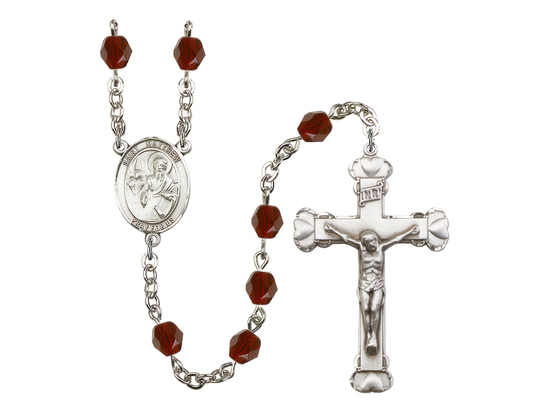 R6001 Series Rosary<br>St. Matthew the Apostle<br>Available in 12 Colors