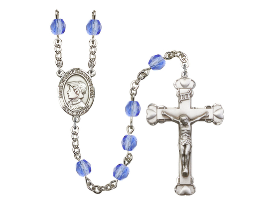 R6001 Series Rosary<br>St. Elizabeth Ann Seton<br>Available in 12 Colors