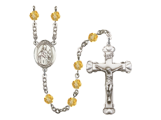 R6001 Series Rosary<br>St. Walter of Pontoise<br>Available in 12 Colors