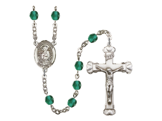 R6001 Series Rosary<br>St. Christina the Astonishing<br>Available in 12 Colors