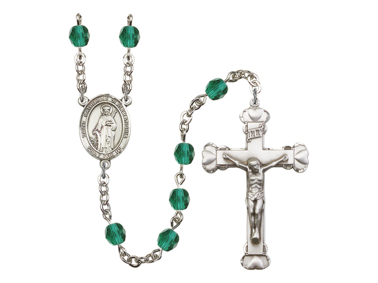 R6001 Series Rosary<br>St. Catherine of Alexandria<br>Available in 12 Colors
