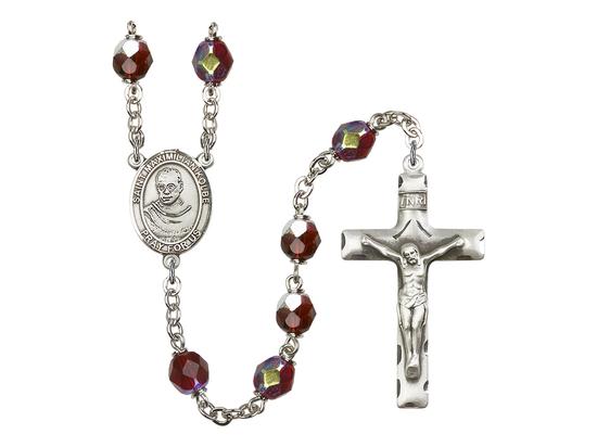 R6008 Series Rosary<br>St. Maximilian Kolbe