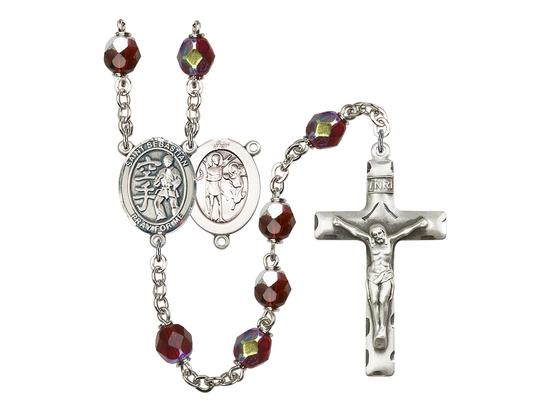 R6008 Series Rosary<br>St. Sebastian/Karate