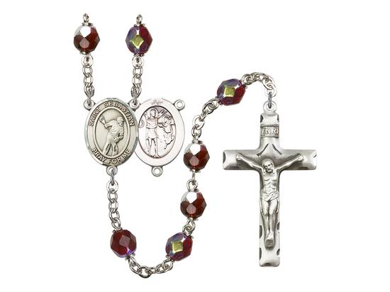 R6008 Series Rosary<br>St. Sebastian/Lacrosse