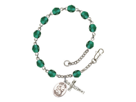 RB6000 Series Rosary Bracelet<br>St. Fina<br>Available in 12 Colors