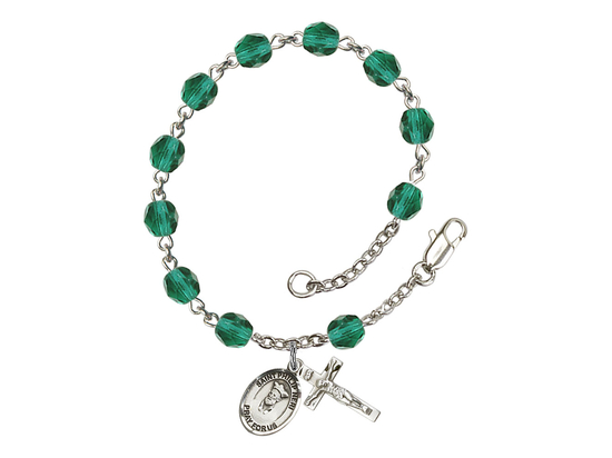RB6000 Series Rosary Bracelet<br>St. Philip Neri<br>Available in 12 Colors